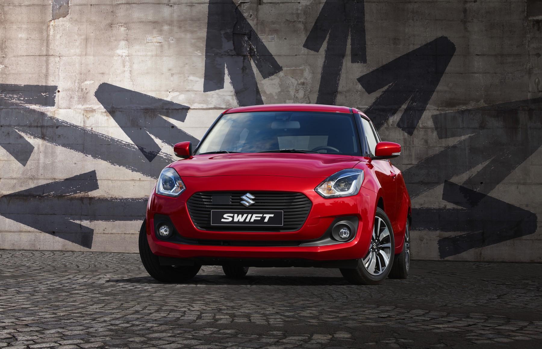Celosvětový úspěch modelu Suzuki Swift – prodáno šest milionů vozů novodobé generace