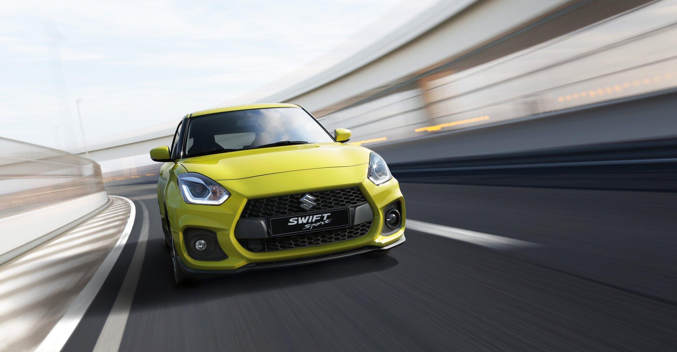Nový Suzuki Swift Sport: lehčí a rychlejší