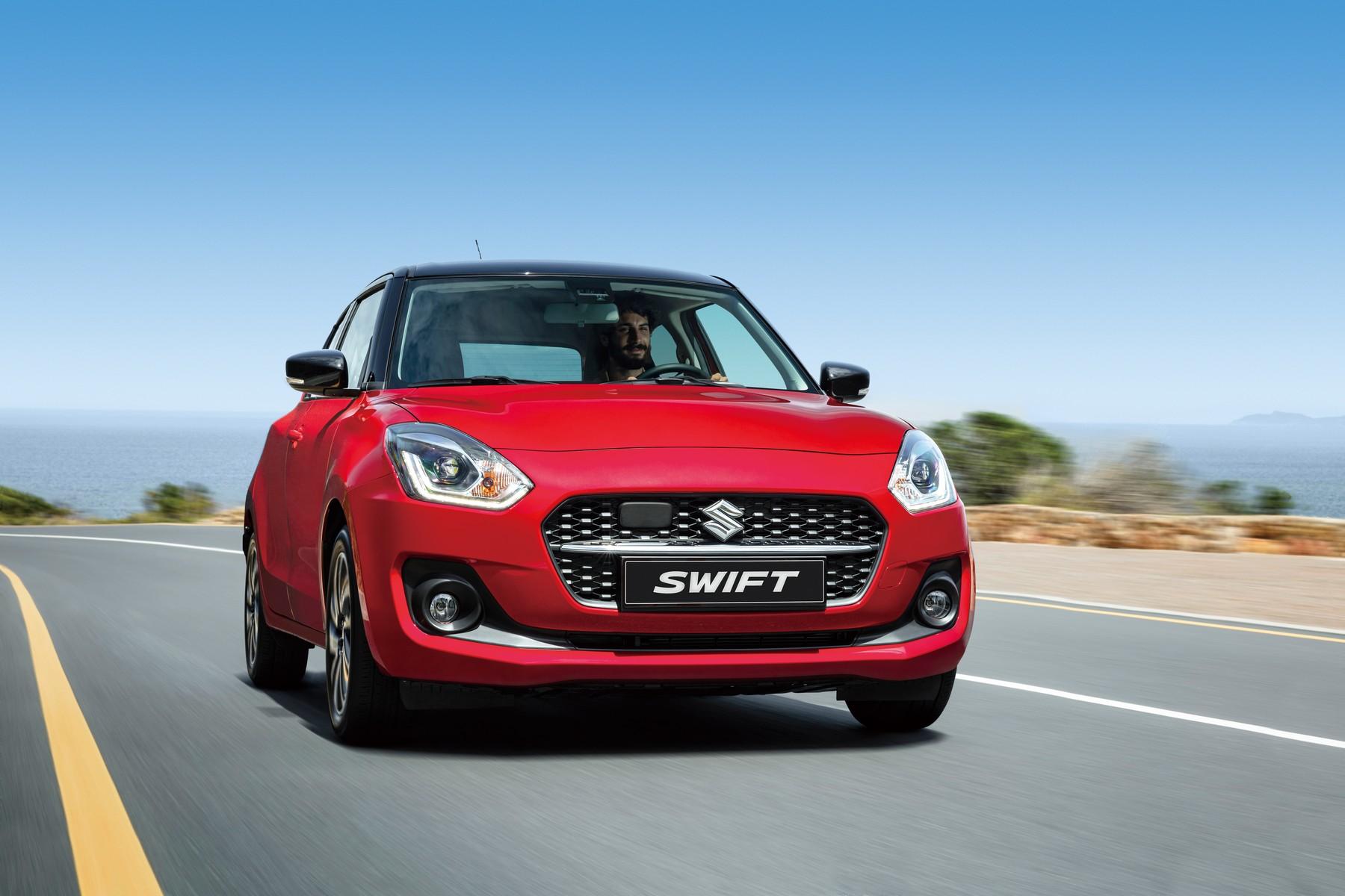 Nový Suzuki Swift přijíždí