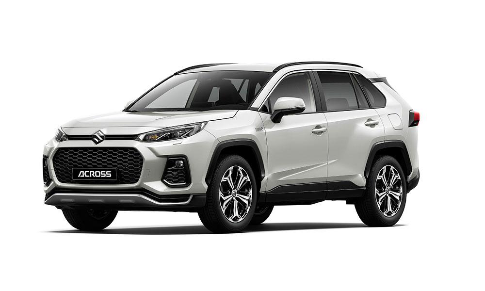 Suzuki představuje ACROSS, plug-in hybridní SUV střední třídy