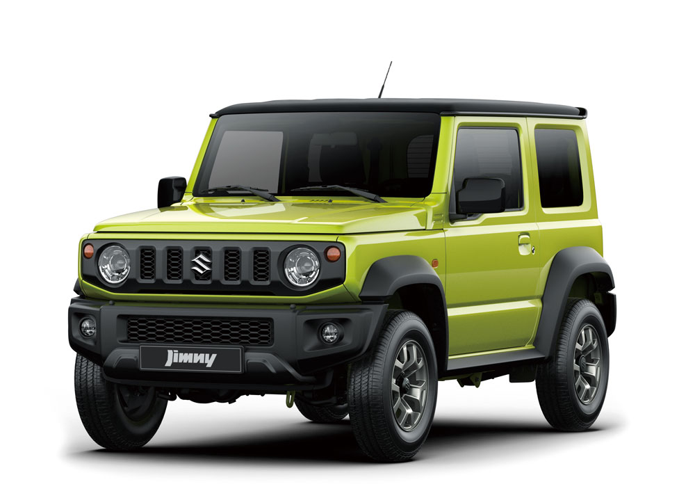 Prodej modelu Jimny v České republice